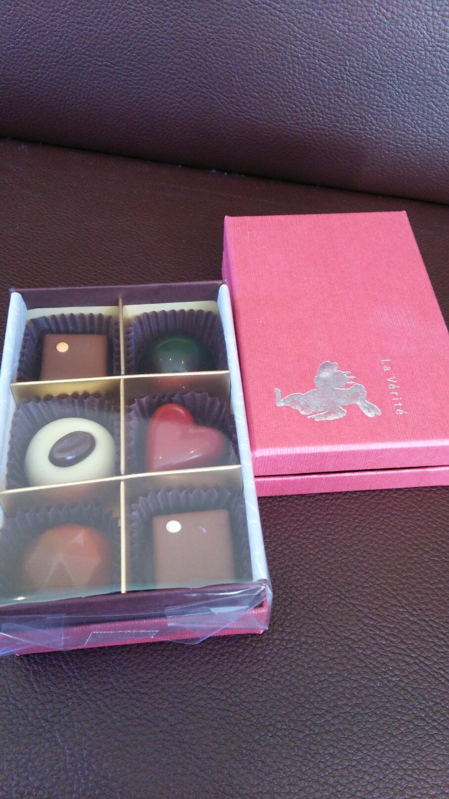 6種類のショコラ