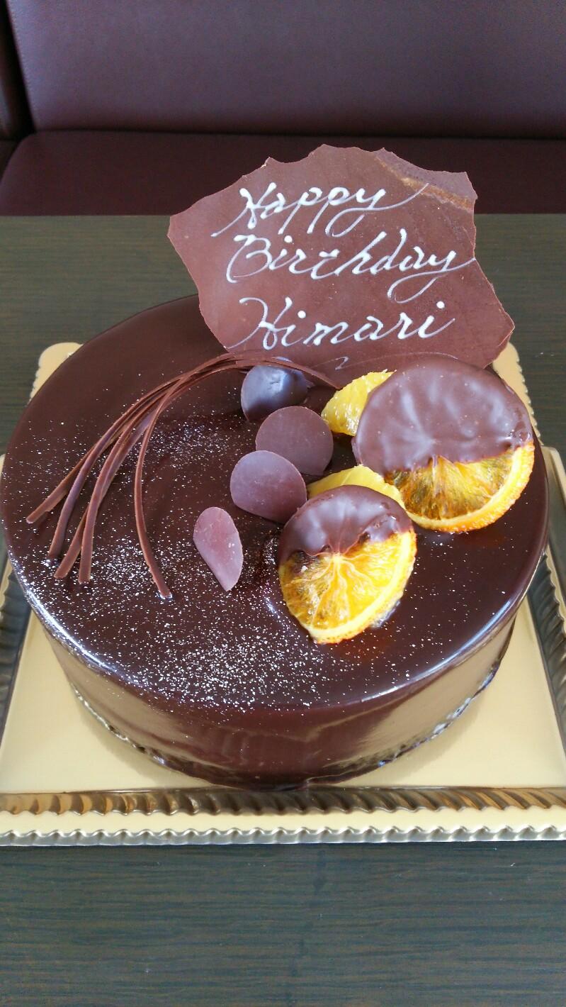 オランジュ ラメルのケーキ、ご注文いただきました!