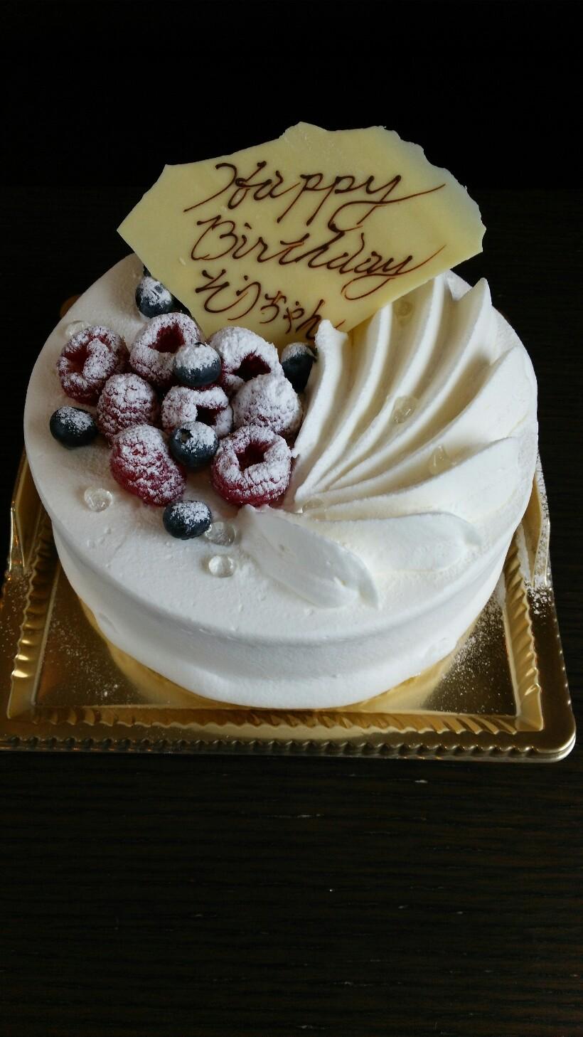 マリエのバースデーケーキ