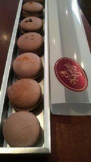 6種類のマカロンショコラ