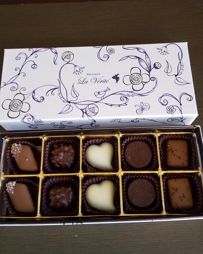 5種類のショコラ 10個入り